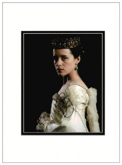 Claire Foy Autograph Signed Photo - The Crown